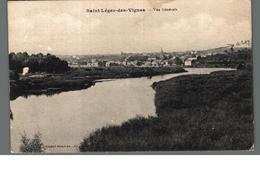 Cpa 58 Saint St Léger Des Vignes Vue Générale Déstockage à Saisir - Autres Communes