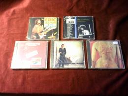 ERIC CLAPTON   LOT DE 5 CD ALBUM - Rock