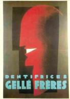Publicite - Dentifrices Gellé Frères - Jean Carlu - Flamme Postale De Jean Carlu - Voir Scans Recto-Verso - Advertising