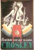 Publicite - Crosley Vers 1930 - L A Mauzan - Voir Scans Recto-Verso - Publicité