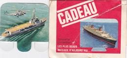 Figurine Publicitaire Huilor Dulcine Samo Crémolive - Bateau La Résolue - France 1961 - Avec Emballage - Sonstige