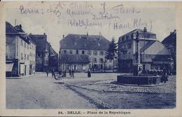 DELLE - Place De La République - Delle