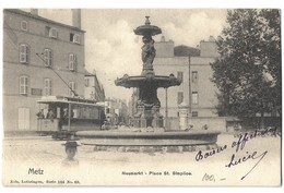 CPA Metz Place Saint Simplice Nels 1902 - Metz