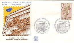 FRANCE 1782 FDC Enveloppe Premier Jour Musée Postal Maison De La Poste Et De La Philatélie Paris 1973 - FDC