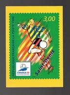 Calendrier Prévisionnel Des émissions Philatéliques De 1998 - Football Coupe Du Monde 98 Saint-Denis - La Poste - Calendriers