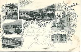 1898 - TRAVNIK ,  Gute Zustand, 2 Scan - Bosnie-Herzegovine