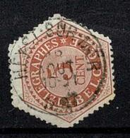 MW-2944   HEYST SUR MER                          TELEGRAAF UITGIFTE 1879 - Télégraphes