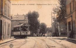 CPA Environs De Marseille - St-PIERRE - Boulevard Sainte-Thérèse - Timone, Baille, Pont De Vivaux