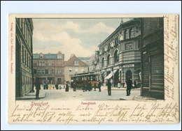 XX003663-394/ Staßfurt Sandplatz Straßenbahn AK 1901 - Germany