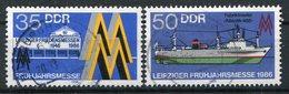 DDR Michel-Nr. 3003-3004 Vollstempel Tagesstempel - Usati