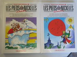 Lot De Deux Pieds Nickekés - Editions Integrale N° 2 Et N° 3 - Pieds Nickelés, Les