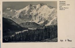 DEUTSCHE - HIMALAYA , EXPEDITION 1934 ZUM NANGA PARBAT , TARJETA POSTAL SIN CIRCULAR , MONTAÑAS , MOUNTAINS - Postales
