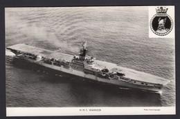 RPPC Modern Real Photo Postcard HMS Warrior Royal Navy Ship Boat RP PC - Warships