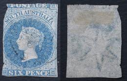 South Australia 1855 Yver 3 6 P Used - Oblitérés