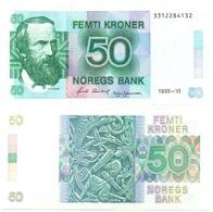 Norway - 50 Kroner 1993 UNC Lemberg-Zp - Norway