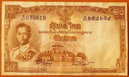Thailand 10 Baht 1953 Sign.41 - Thailand
