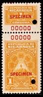 Nicaragua Color Proof Specimen - Nicaragua