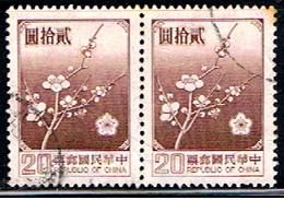 TAIWAN 99 // YVERT 1238 X 2 // 1979 - 1945-... República De China