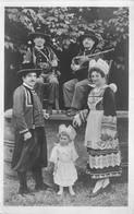 Bretagne * Musiciens * Biniou * Bombarde *costume Et Coiffe  Mr Et Mme  Cueff A Pont -aven  ( Scan Recto Et Verso ) - Photographs