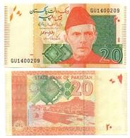 Pakistan - 20 Rupees 2015 UNC Pick 55i Lemberg-Zp - Pakistan
