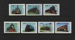 Uzbekistan - 1999 - Railways, Locomotives - MNH - Ouzbékistan