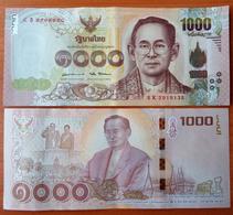 Thailand 1000 Baht 2017 Commemorative AUNC/UNC - Thailand