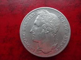 Belgique - 5 Francs 1849  Leopold 1    Tres Belle Pièce - 1831-1865: Léopold I
