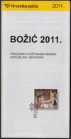Croatia 2011 / Christmas / The Birth Of Jesus / Prospectus, Leaflet, Brochure - Croatia