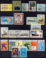1972 - Spezzature Di Francobolli Annullati - 1 Immagine - Collezioni & Lotti