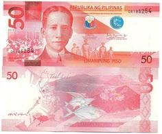 Philippines - 50 Piso 2018 AUNC / UNC Lemberg-Zp - Philippines