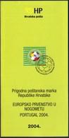 Croatia 2004 / European Football Championship - Portugal / Prospectus, Leaflet, Brochure - Croatia