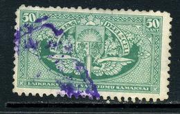 Lettonie 1926 Y&T Journaux 4 ° - Lettonie