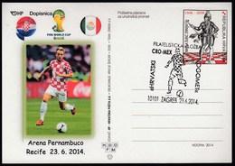 Croatia Zagreb 2014 / Soccer Football / World Championship Brazil 2014 / Ph. Ex. Croatian Football / Croatia - Mexico - World Cup