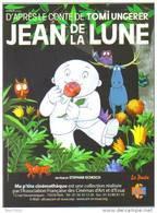 Programme Format 15x20 De 3 Volets : Jean De La Lune - Illustration : Tomi Ungerer (film, Affiche, Cinéma) - Posters