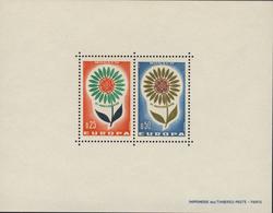 Monaco - Foglietto Europa Nuovo MNH**- Certificato Raybaudi - 2 Immagini - 1964