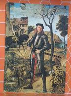 Ritratto Di Cavaliere - Vittore Carpaccio Castagnola Fondazione Rohonz Cartolina Non Viaggiata - Pittura & Quadri