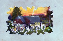 Prenoms,   Joseph - Prénoms
