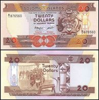 SOLOMON ISLANDS - 20 Dollars Nd.(1986) UNC P.16 - Salomons
