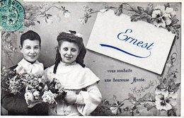 Prenoms,  Ernest - Prénoms