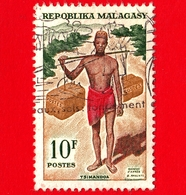 MADAGASCAR - Usato - 1965 - Storia Postale - Mail Runner - 10 - Madagascar (1960-...)