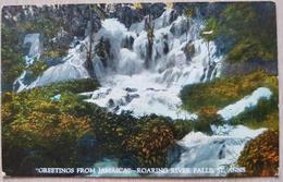 Jamaica Roaring River Falls - Postcards