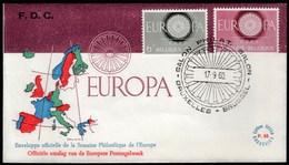 Belgium 1960 / Europa CEPT / FDC - Europa-CEPT