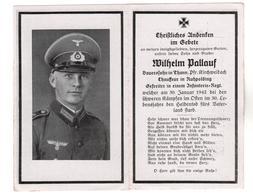 +2757, Deutsche Wehrmacht, Sterbebild - Guerre 1939-45