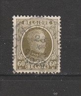 COB 255 Oblitération Centrale CHARLEROY 1 - 1922-1927 Houyoux