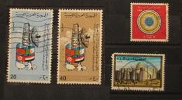 Libia L.A.R 1970 Comunicazioni 1971 Unione Postale Araba 1977 Moschee - Libya