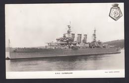 RPPC Modern Real Photo Postcard HMS Cumberland Royal Navy Ship Boat RP PC - Warships