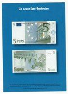 Die Neuen 5 Euro Banknoten - Monnaies (représentations)