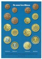 Die Neuen Euro Münzen - Münzen (Abb.)