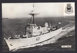 RPPC Modern Real Photo Postcard HMS Abdiel Royal Navy Ship Boat RP PC - Warships