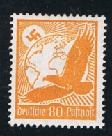 1934 21. Jan. Goldener Adler Mi DR 536x Sn DE C53 Yt DR PA50 Sg DR 533 AFA DR 531 M. G. Und Falz - Deutschland